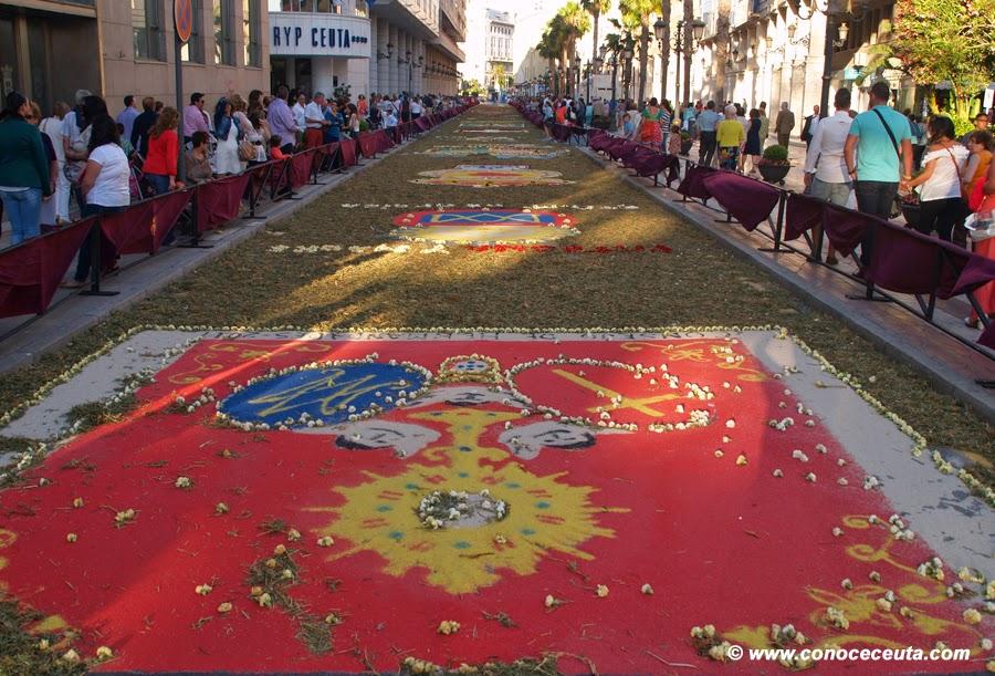 alfombras ceuta corpus arena de colores aresla